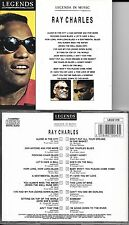 CD 20 TITRES RAY CHARLES LEGEND IN MUSIC BEST OF 1993 LECD 019 TBE