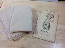 Marian Martin Vintage Dress Pattern #9089 Instructions Cut Pieces Size 34 1948