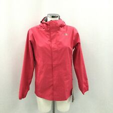 New The North Face Jacket XL Girl's Pink Hooded Rain Coat Outdoor Casual 481696