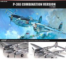 [Free Shipping] ACADEMY 1/48 Plastic P-38 P-38J P-38L F-5E DROOPSNOOT #12282