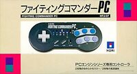 HORI FIGHTING COMMANDER PC HPJ-07 CONTROLLER FOR NEC PC ENGINE No Box NEW