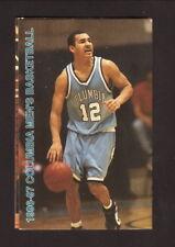 Columbia Lions--1996-97 Basketball Pocket Schedule--Pepsi