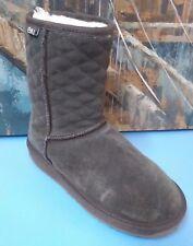 Women's Size UK5 /US N-F7/M-H6 Emu Australia Shearling Winter Boots Booties Gray