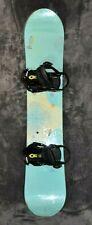 Burton Feather 39 Girls Youth Snowboard with Burton Sync Bindings - 139 cm