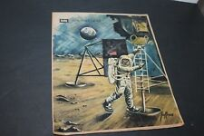 """NEW YORK SUNDAY NEWS COLOROTO MAGAZINE """"MAN ON THE MOON"""" SPECIAL ISSUE DEC. 1969"""