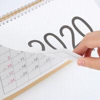 Calendrier mensuel 2020 Desktop Agenda quotidien Programme d'apprentissage BK2