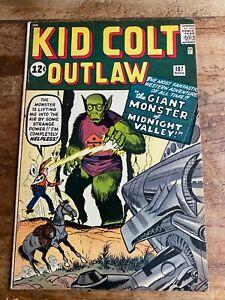 KID COLT OUTLAW #107 Marvel/ATLAS Comics Jack Kirby 1962 Alien Cover A