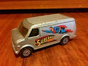 Corgi Juniors Superman Chevrolet Van Made In Great Britain