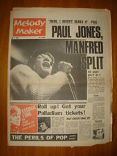 MELODY MAKER 1966 JUL 9 MANFRED MANN SPLIT GEORGIE FAME