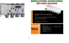 MODULATORE PLL AUDIO VIDEO TELEVES 5858  ADATTO PER MODULARE DVR SKY CON OUT RCA