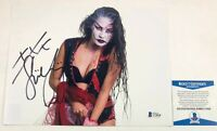 TNA Impact Wrestling Su Yung Autographed 8x10 Photo Signed WWE NXT Beckett COA