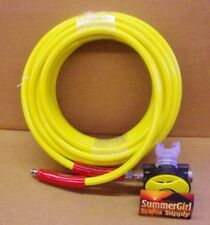 Brownie's Third Lung 50ft Hookah Hose With  2nd Stage Scuba Regulator