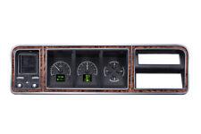 1973-79 Ford F100 F150 Bronco Pickup Dakota Digital HDX Black Alloy Gauge Kit
