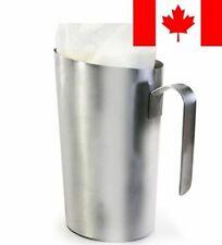 Danesco 9345644SS Stainless Steel Milk Bag Holder, Silver