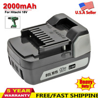 For HITACHI HXP 18V Lithium Battery BSL1815 BSL1815X BSL1830 BSL1840 18Volt Tool