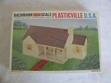 Vintage Bachmann Plasticville O/O-27 & S Scale New England Ranch House Kit #1912