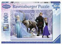 Ravensburger Disney Frozen Puzzle XXL 100 Piece Jigsaw Puzzle Olaf Ice Princess