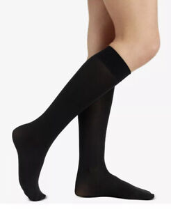 BERKSHIRE TREND Trouser Sock 2 Pairs Shoe Size 9-11 Black Style 6423 NWT