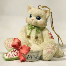 1995 Enesco Calico Kittens Figurine- To My Kitty Christmas Ornament
