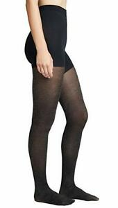 SPANX 20179R Black Metallic Gold Shimmer All Day Shaping Tights ( A )