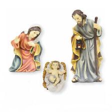 Heilige Familie Krippenfiguren -9 cm zur Mathias Krippe Maria, Josef & Jesuskind