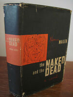 The Naked and The Dead Norman Mailer Fiction 1st Edition 2nd Printing Novel