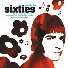 MUSIC FOR SIXTIES  CD NEU - BRIAN AUGER, BARRY MCGUIRE, THE MAMAS & THE PAPAS