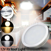 12V LED Interior Dome Roof Ceiling Cabin Light RV/Caravan/Motorhome/Truck