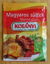 5 pcs Hungarian Style Roast Seasoning Mix Magyaros sultek Fuszerkeverek 5 x 40g
