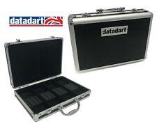 Datadart Aluminium Attache-Style Dart Case - Stores 4 sets of Darts