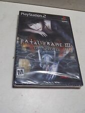 Fatal Frame III 3 The Tormented For PS2 Playstation 2 Sealed Video Game