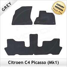 CITROEN C4 PICASSO MK1 2006-2013 Tailored LUSSO 1300g Tappeti Tappetini AUTO GRIGIO