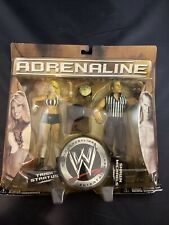 Shawn Michaels & Trish Stratus Action Figure Adrenaline Series 20 WWE Wrestling