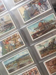 "Wills Cigarette Cards 1916 ""Mining"" Full Set 50"