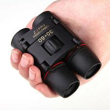 Binoculares de visión nocturna de día 30x60 Zoom Telescopio plegable de viaje