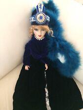 Antique Vintage French Boudoir Doll Composition Head & Hands - Art Deco style