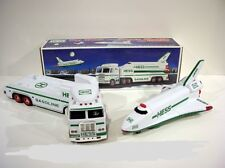 HESS Toy Truck And Space Shuttle With Satellite