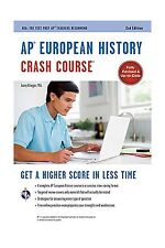 AP European History Crash Course Book + Online (Advanced Placem... Free Shipping