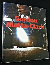Gordon Matta-Clark. A retrospective. Museum of Contemporary Art, Chicago, May 8