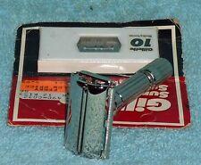 1959 Gillette Refurbished RePlated FatBoy Razor E4–8