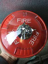 FIRE ALARM STROBE SYSTEM SENSOR VISUAL SIGNAL NO HORN