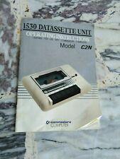 Commodore 64 istruzioni datassette originale