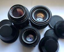 Carl Zeiss Set MC 50+80+135mm Lenses Arri PL Mount Arriflex Ursa Red One 35mm