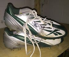 Jarrett Bush Green Bay Packers Game Used Signed Autographed Cleats COA Worn