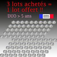 Lot 100 Piles bouton télécommande AG13 AG 13 LR44 G13-A D303 L1154 L1154F