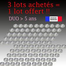 Lot 100 Piles bouton télécommande AG13 LR44 G13-A D303 L1154 L1154F DUO 2021
