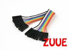 Quadcopter Male to Male Leads 100mm Clean Install Control Board KK2 NAZE32 NAZA