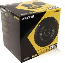 """Kicker 43DSC504 400 Watt 5.25"""" DS Series 2-Way Coaxial Car Speakers"""