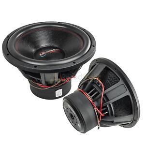"2 Pack American Bass XFL-1522 15"" Subwoofers Dual 2 Ohm 2000 Watts Max Car Audio"
