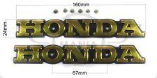 Metal Honda fuel Tank Gas tank Badge Emblem Decal For CBX1000 CB550 CB650 CB750